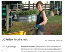 UGArden Foodie Jobs